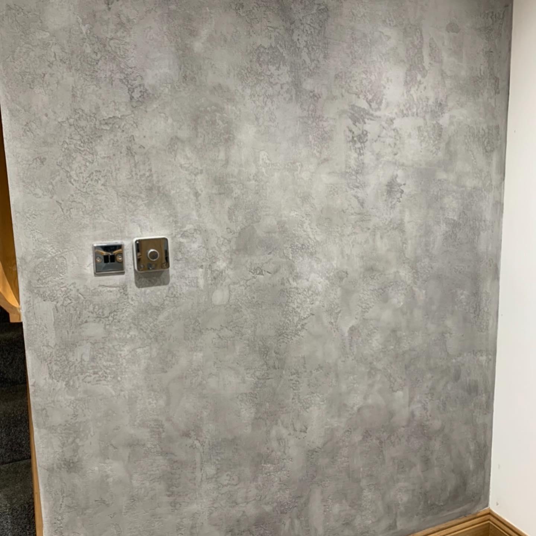 PS Plastering Services - Venetian Plaster Entrance hall Scotland