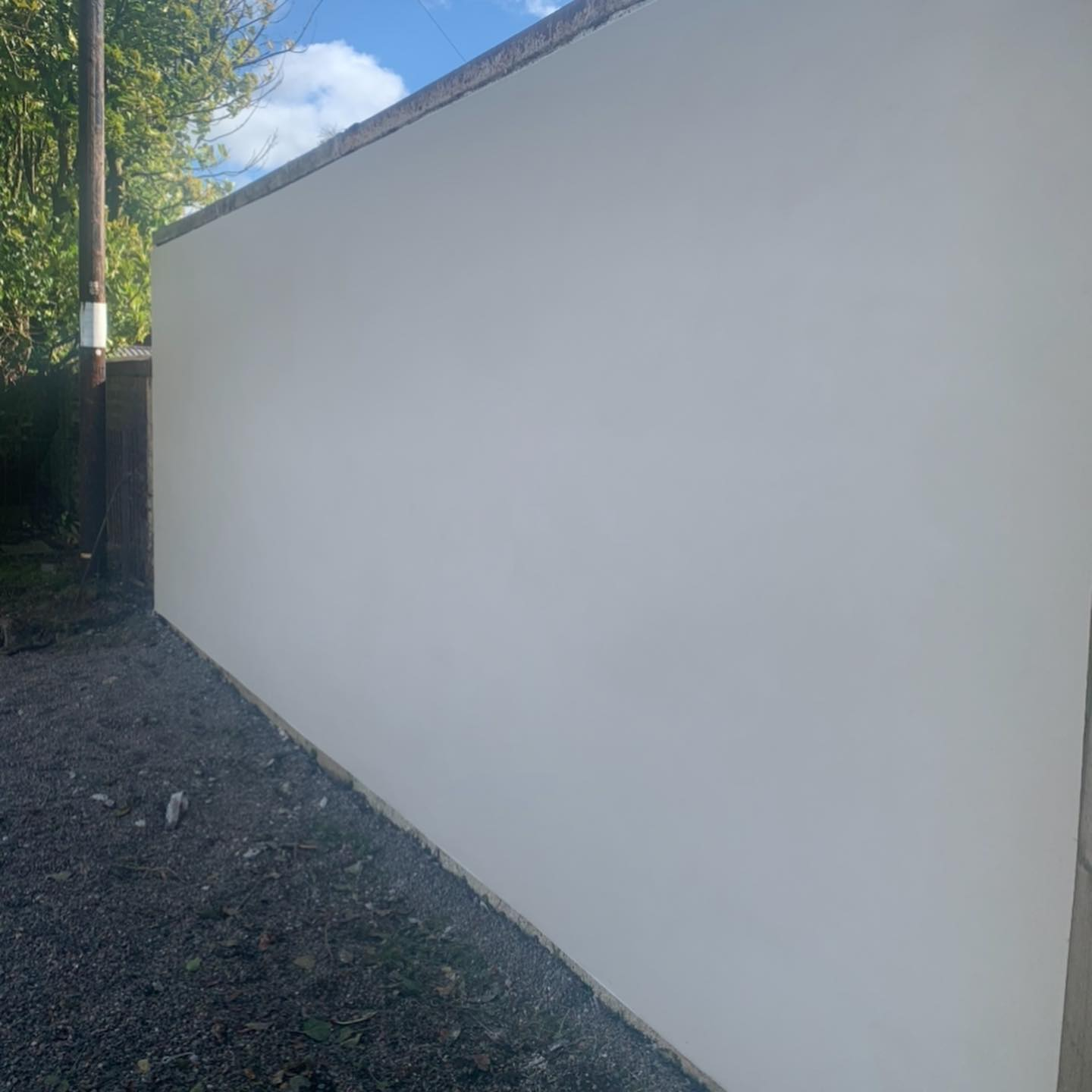 PS Plastering Services - Rendered wall Glasgow Scotland